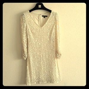 Off white sequence Aidan Mattox Dress